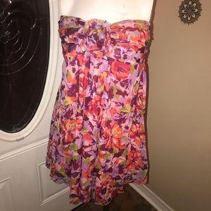 Faith 21 Dresses - Faith21 XL Floral Halter Dress